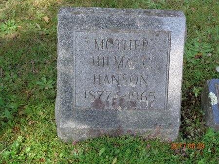HANSON, HILMA C. - Marquette County, Michigan | HILMA C. HANSON - Michigan Gravestone Photos