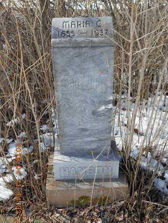HANSON, MARIA C. - Marquette County, Michigan   MARIA C. HANSON - Michigan Gravestone Photos