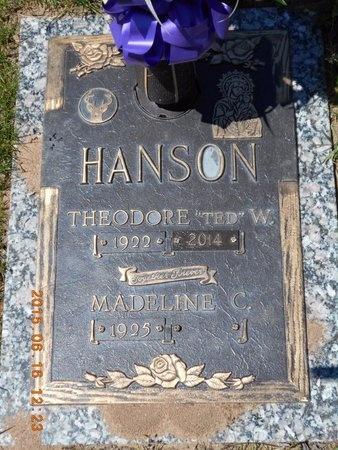 HANSON, MADELINE C. - Marquette County, Michigan   MADELINE C. HANSON - Michigan Gravestone Photos