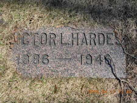 HARDES, VICTOR L. - Marquette County, Michigan | VICTOR L. HARDES - Michigan Gravestone Photos