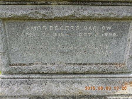 HARLOW, OLIVE LAVIRA - Marquette County, Michigan | OLIVE LAVIRA HARLOW - Michigan Gravestone Photos