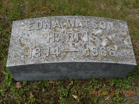 HARRIS, EDNA - Marquette County, Michigan   EDNA HARRIS - Michigan Gravestone Photos