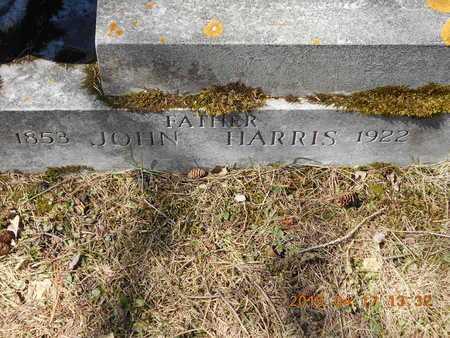 HARRIS, JOHN - Marquette County, Michigan   JOHN HARRIS - Michigan Gravestone Photos