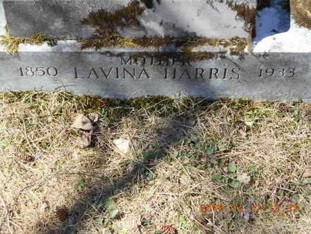 HARRIS, LAVINA - Marquette County, Michigan   LAVINA HARRIS - Michigan Gravestone Photos