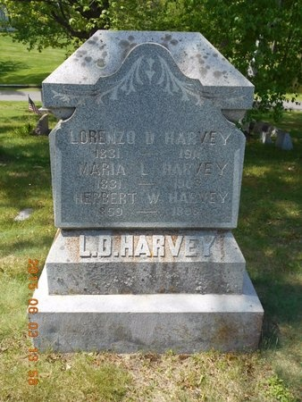 HARVEY, LORENZO D. - Marquette County, Michigan | LORENZO D. HARVEY - Michigan Gravestone Photos