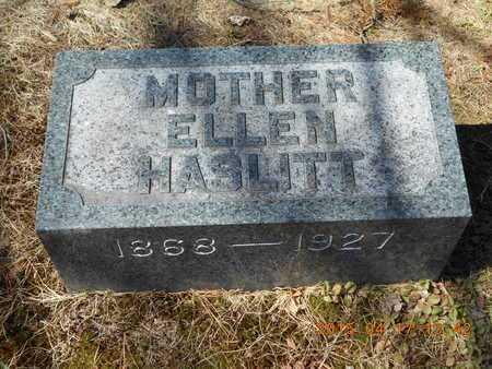 HASLITT, ELLEN - Marquette County, Michigan   ELLEN HASLITT - Michigan Gravestone Photos