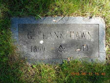 HAWN, G. FRANK - Marquette County, Michigan | G. FRANK HAWN - Michigan Gravestone Photos