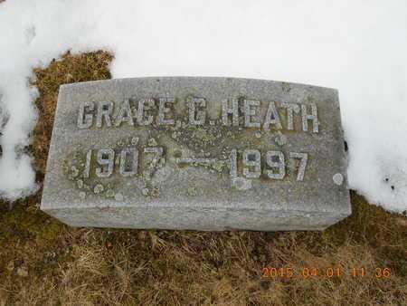 HEATH, GRACE G. - Marquette County, Michigan | GRACE G. HEATH - Michigan Gravestone Photos