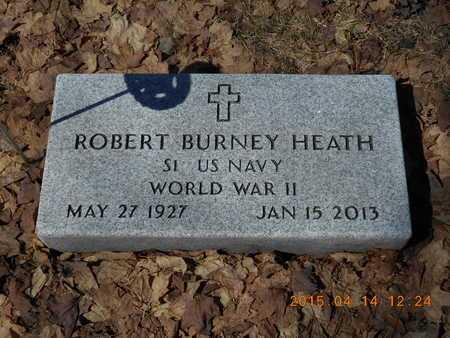 HEATH, ROBERT BURNEY - Marquette County, Michigan | ROBERT BURNEY HEATH - Michigan Gravestone Photos