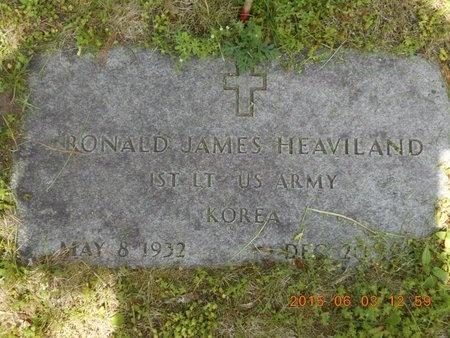 HEAVILAND, RONALD JAMES - Marquette County, Michigan   RONALD JAMES HEAVILAND - Michigan Gravestone Photos