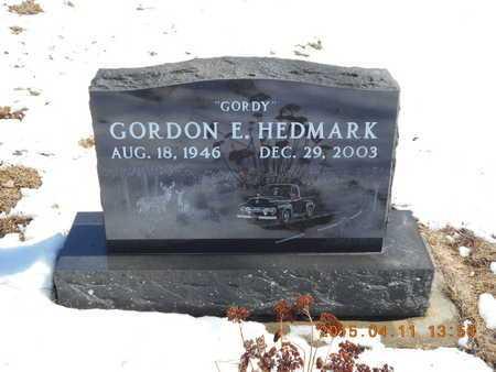 HEDMARK, GORDON E. - Marquette County, Michigan   GORDON E. HEDMARK - Michigan Gravestone Photos