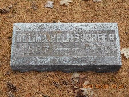 HELMSDORFER, DELIMA - Marquette County, Michigan | DELIMA HELMSDORFER - Michigan Gravestone Photos