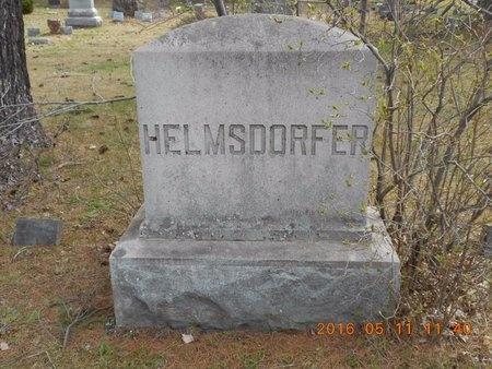 HELMSDORFER, FAMILY - Marquette County, Michigan   FAMILY HELMSDORFER - Michigan Gravestone Photos