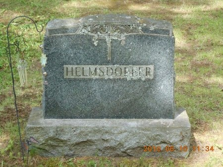 HELMSDORFER, FAMILY - Marquette County, Michigan | FAMILY HELMSDORFER - Michigan Gravestone Photos