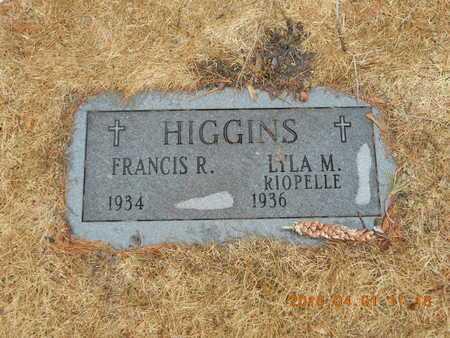 HIGGINS, LYLA M. - Marquette County, Michigan | LYLA M. HIGGINS - Michigan Gravestone Photos