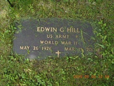 HILL, EDWIN G. - Marquette County, Michigan   EDWIN G. HILL - Michigan Gravestone Photos