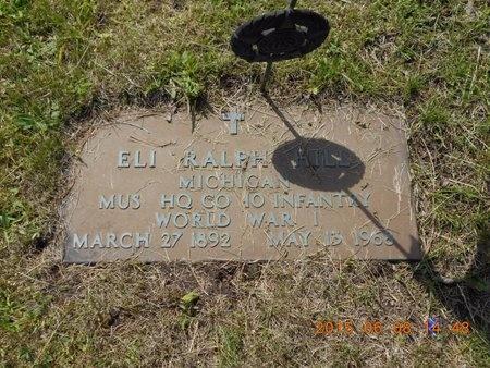 HILL, ELI RALPH - Marquette County, Michigan | ELI RALPH HILL - Michigan Gravestone Photos