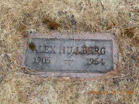 HILLBERG, ALEX - Marquette County, Michigan | ALEX HILLBERG - Michigan Gravestone Photos