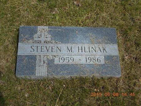 HLINAK, STEVEN M. - Marquette County, Michigan   STEVEN M. HLINAK - Michigan Gravestone Photos