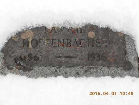 HOFFENBACHER, FANNIE - Marquette County, Michigan | FANNIE HOFFENBACHER - Michigan Gravestone Photos