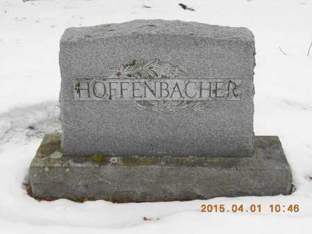 HOFFENBACHER, FAMILY - Marquette County, Michigan   FAMILY HOFFENBACHER - Michigan Gravestone Photos