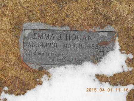 HOGAN, EMMA J. - Marquette County, Michigan | EMMA J. HOGAN - Michigan Gravestone Photos