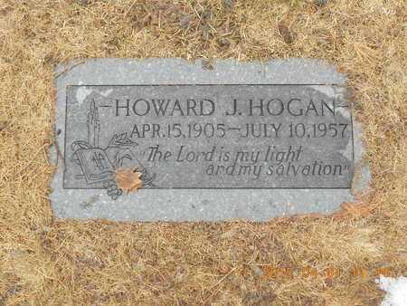 HOGAN, HOWARD J. - Marquette County, Michigan   HOWARD J. HOGAN - Michigan Gravestone Photos