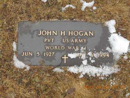 HOGAN, JOHN H. - Marquette County, Michigan | JOHN H. HOGAN - Michigan Gravestone Photos