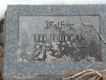 HOGAN, LEO H. - Marquette County, Michigan | LEO H. HOGAN - Michigan Gravestone Photos
