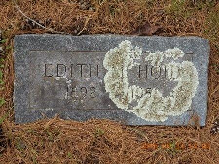 HOID, EDITH M. - Marquette County, Michigan | EDITH M. HOID - Michigan Gravestone Photos