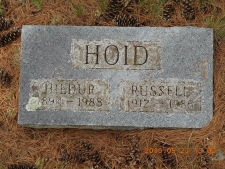 HOID, RUSSELL - Marquette County, Michigan | RUSSELL HOID - Michigan Gravestone Photos