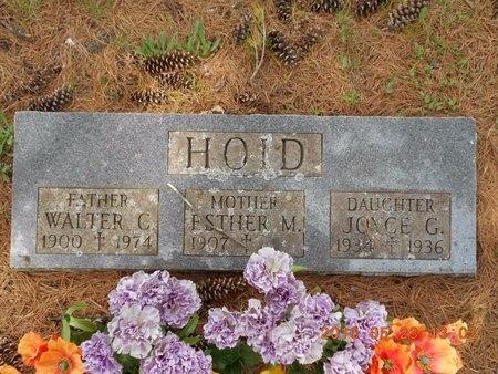 HOID, WALTER C. - Marquette County, Michigan | WALTER C. HOID - Michigan Gravestone Photos