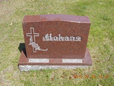 HOKANS, FAMILY - Marquette County, Michigan | FAMILY HOKANS - Michigan Gravestone Photos