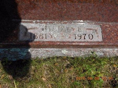 HOKANS, HILDA E. - Marquette County, Michigan | HILDA E. HOKANS - Michigan Gravestone Photos