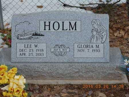HOLM, LEE W. - Marquette County, Michigan | LEE W. HOLM - Michigan Gravestone Photos
