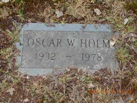 HOLM, OSCAR W. - Marquette County, Michigan | OSCAR W. HOLM - Michigan Gravestone Photos