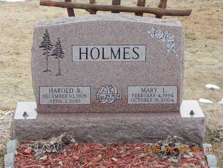 HOLMES, HAROLD R. - Marquette County, Michigan | HAROLD R. HOLMES - Michigan Gravestone Photos