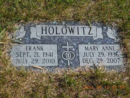 HOLOWITZ, FRANK - Marquette County, Michigan | FRANK HOLOWITZ - Michigan Gravestone Photos