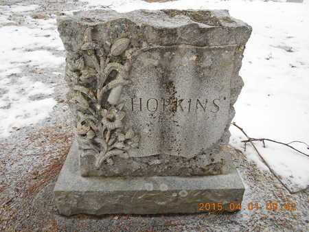 HOPKINS, FAMILY - Marquette County, Michigan   FAMILY HOPKINS - Michigan Gravestone Photos