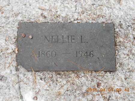 HOPKINS, NELLIE L. - Marquette County, Michigan | NELLIE L. HOPKINS - Michigan Gravestone Photos