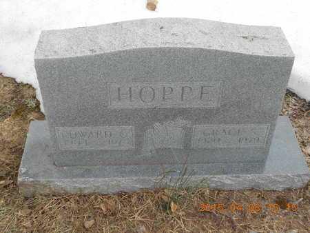 HOPPE, GRACE S. - Marquette County, Michigan | GRACE S. HOPPE - Michigan Gravestone Photos