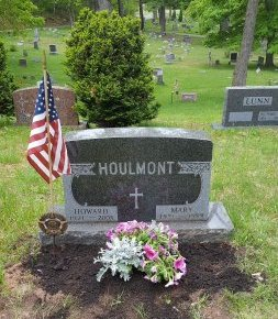 HOULMONT, MARY - Marquette County, Michigan   MARY HOULMONT - Michigan Gravestone Photos