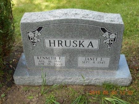 HRUSKA, KENNETH F. - Marquette County, Michigan | KENNETH F. HRUSKA - Michigan Gravestone Photos