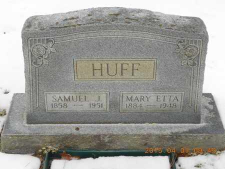 HUFF, SAMUEL J. - Marquette County, Michigan | SAMUEL J. HUFF - Michigan Gravestone Photos