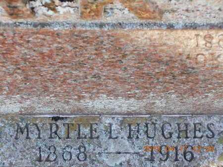 HUGHES, MYRTLE L. - Marquette County, Michigan | MYRTLE L. HUGHES - Michigan Gravestone Photos
