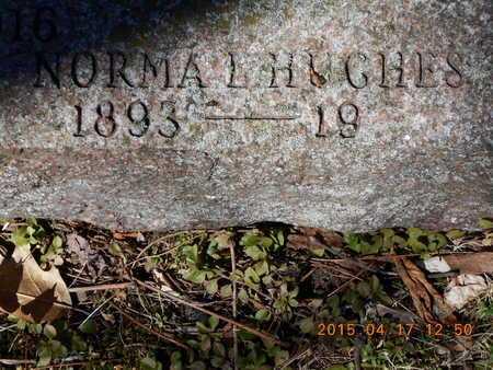 HUGHES, NORMA L. - Marquette County, Michigan | NORMA L. HUGHES - Michigan Gravestone Photos