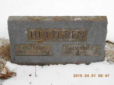 HULTGREN, ELIZABETH - Marquette County, Michigan | ELIZABETH HULTGREN - Michigan Gravestone Photos
