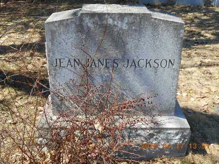 JANES JACKSON, JEAN - Marquette County, Michigan   JEAN JANES JACKSON - Michigan Gravestone Photos