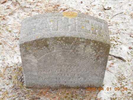 JACKSON, VOLNEY - Marquette County, Michigan   VOLNEY JACKSON - Michigan Gravestone Photos