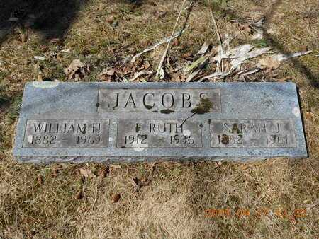 JACOBS, F. RUTH - Marquette County, Michigan | F. RUTH JACOBS - Michigan Gravestone Photos
